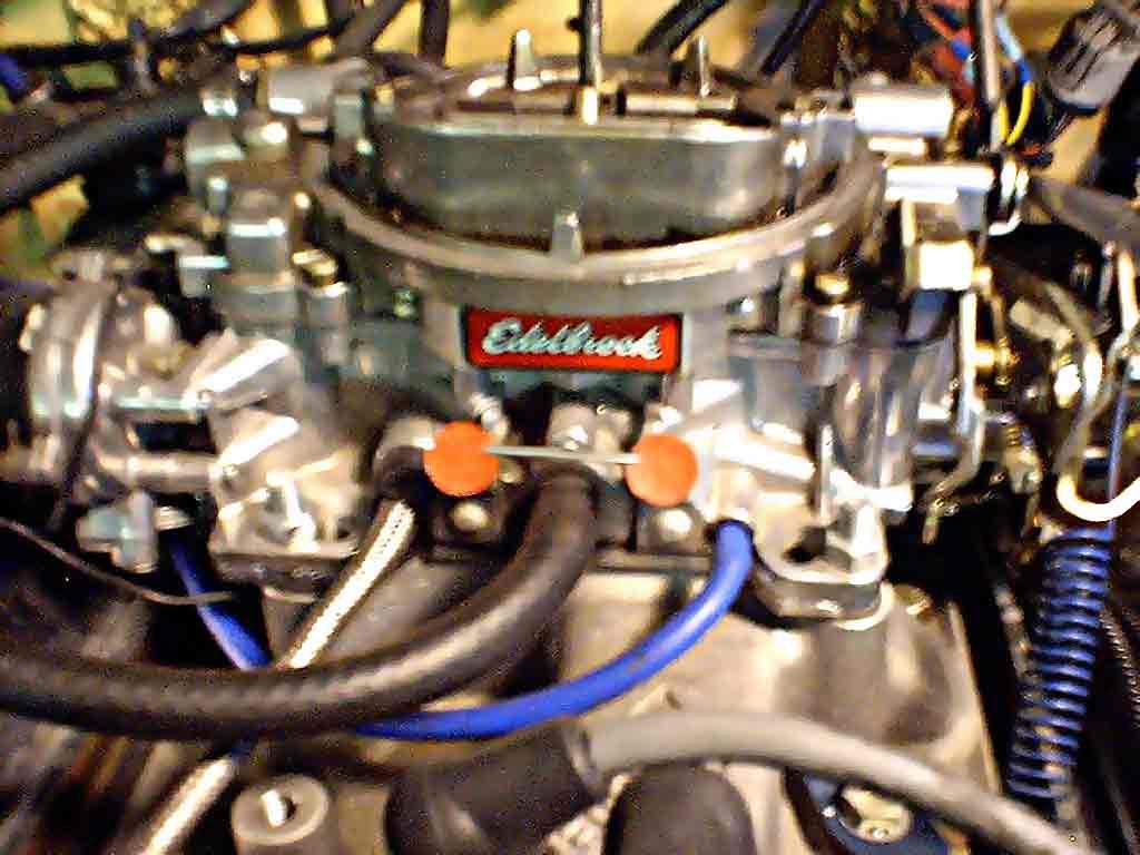 how to adjust an edelbrock carburetor